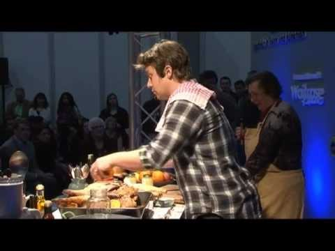 Jamie Oliver Does Goose. Produced by New Edge for AEG at Taste of Christmas