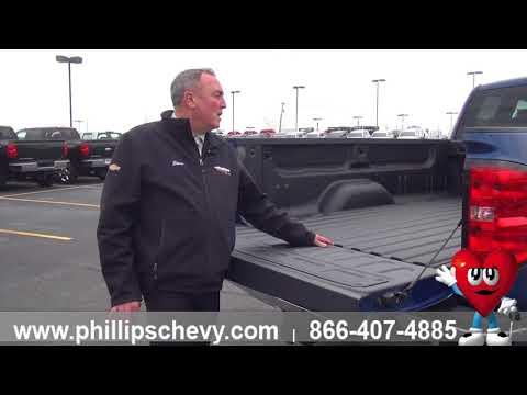 Phillips Chevrolet - 2018 Chevy Silverado – Spray-in Bed Liner - Chicago New Car Dealership