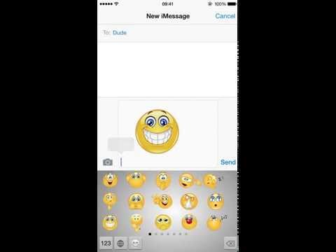 iEmojis -Install Keyboard for iOS 8
