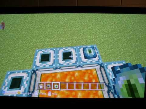 Minecraft. How to build an end portal (newest update Xbox 360)
