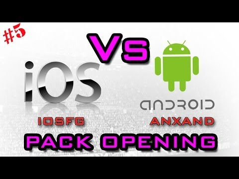 iOS Vs Android  Fifa 14 Pack Opening