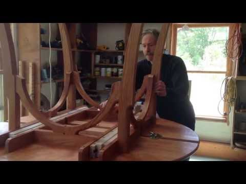 Building an Adjustable Dining Room Table