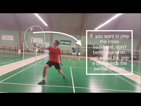 BADMINTON EXERCISE #29 - DYNAMIC BACKHAND GRIP