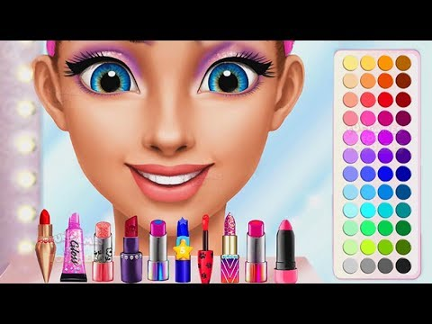 High School Girls Summer Dress Up and Makeup Game - Fun Summer Makeover Games for Kids