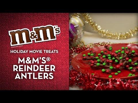 M&M'S® Holiday Movie Treats - Reindeer Antlers