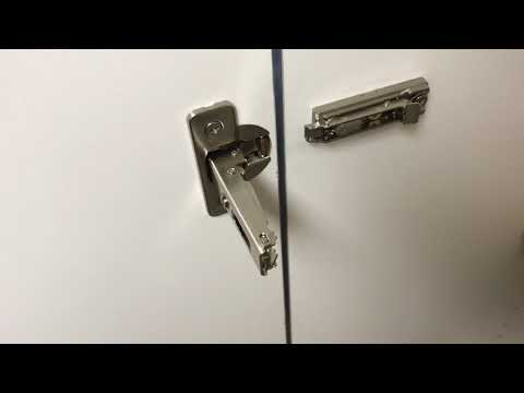 How Mount A Concealed Hinge