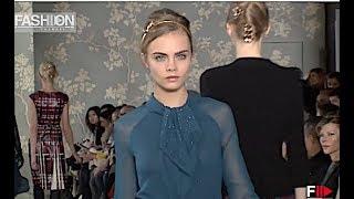 TORY BURCH Fall 2012 2013 New York - Fashion Channel