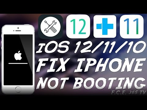 How to Fix an iPhone / iPad / iPod Stuck In Recovery Mode / Black Screen or Apple logo
