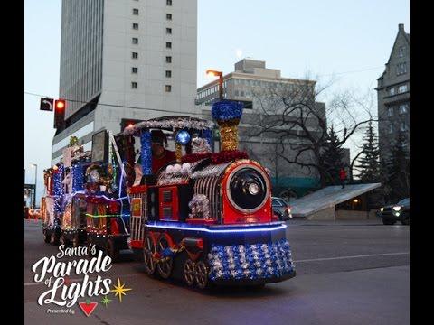 Santa's Parade of Lights 2016 (Edmonton, Canada)