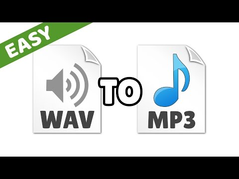 How to Convert WAV to MP3