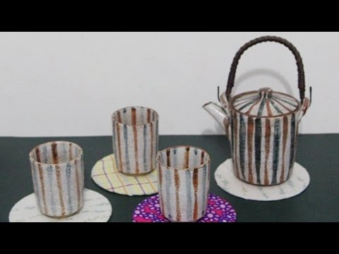 Make Adorable Upcycled CD Tea Coasters - DIY Home - Guidecentral