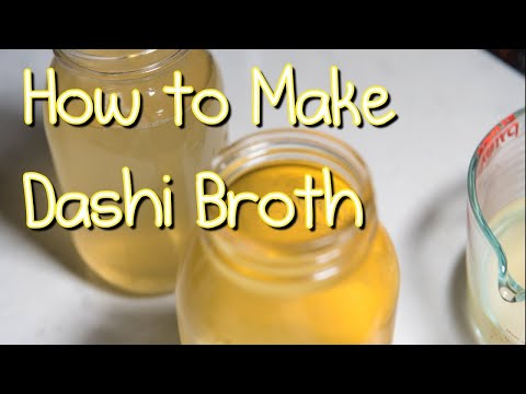 Dashi Stock | Made with konbu and katsuobushi (easy)