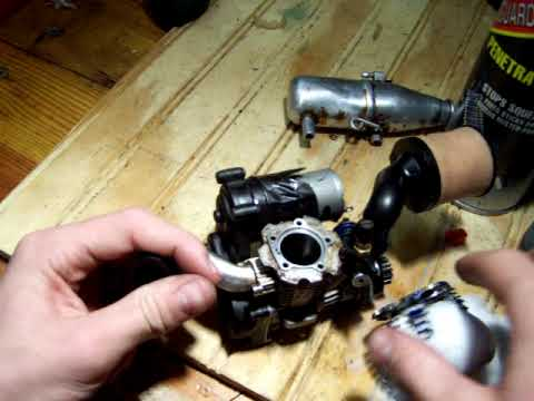how to clean your nitro engine without using cow rc or alcohol