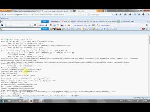 how to find ip address of email sender in gmail.avi