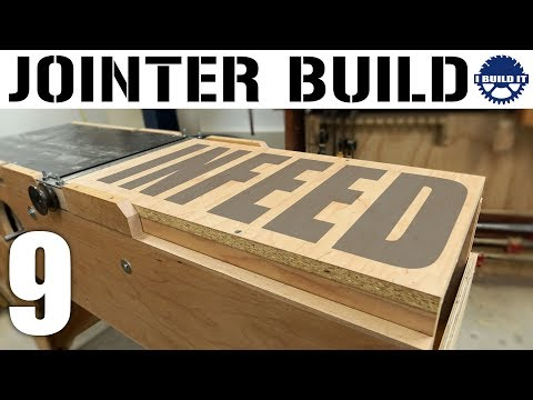 Building A Jointer - The IN-FEED Table