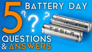 5 MOST Asked Tesla Battery Day Questions | Answering Popular Questions About UPCOMING Battery Day