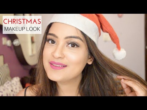 Christmas Makeup Look | Holiday Look | Aarushi Jain