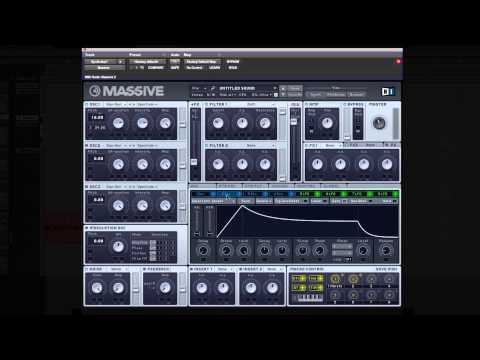 How to make a Calvin Harris styled build up synth in Native Instruments Massive
