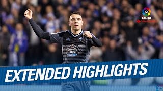 Extended Highlights Iago Aspas shines in the Galician Derby