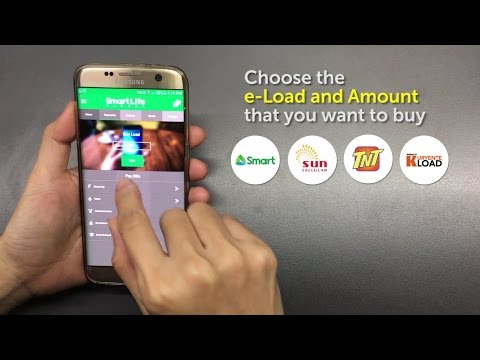 How to Buy e Load using the SmartLife Global App