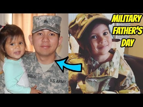 FATHER'S DAY: MILITARY SPECIAL