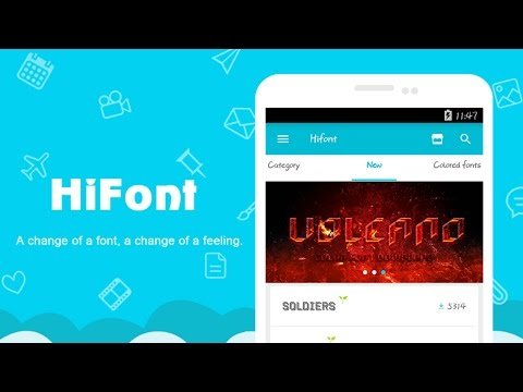 How to change fonts in android   Install cool fonts.