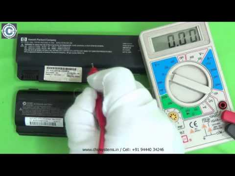 Battery checking method. Chip Systems, Chennai. (Laptop L1)
