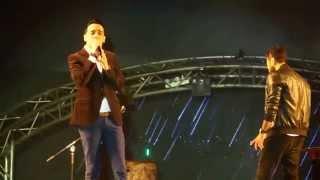 اغنيه ١٨٠ درجه حفلMUST تامر حسني و رامي جمال