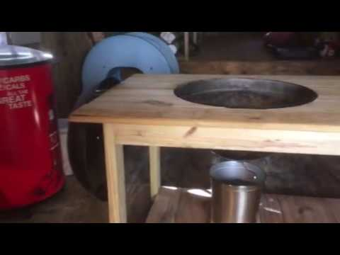 Weber Charcoal Hanging Grill Table