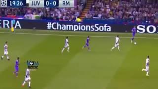 Real madrid vs juvantes ...HaLa Madrid.  Champion. League