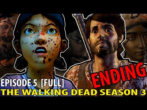 I BLAME KATE. \\ The Walking Dead Game Season 3 Episode 5 [FULL] [ENDING]