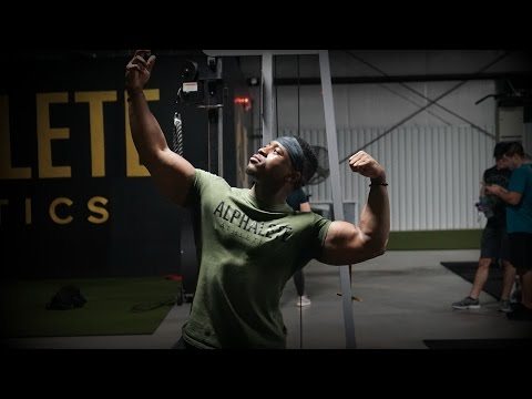 Powerbuilding Workout   Heavy Bench & Arms