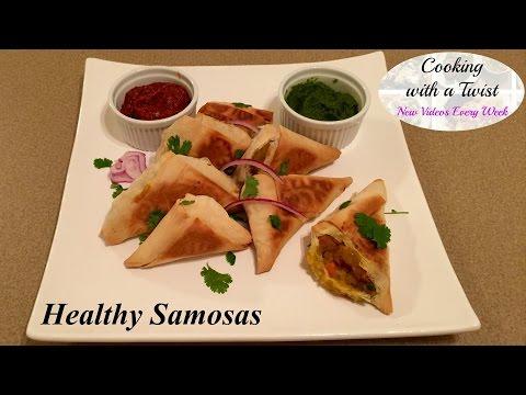 Homemade Samosa Recipe - How to make Samosa - Healthy Vegetable Samosa Recipe - Indian Appetizer