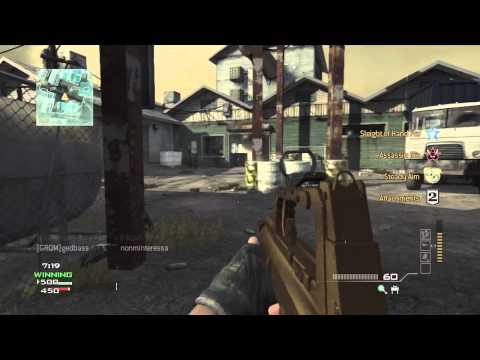 MW3 - Multiplayer Gameplay Commentary #1: Epic First Match!