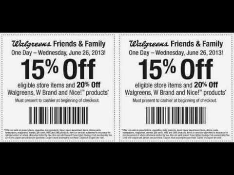 Walgreens Photo Coupon Codes 2015