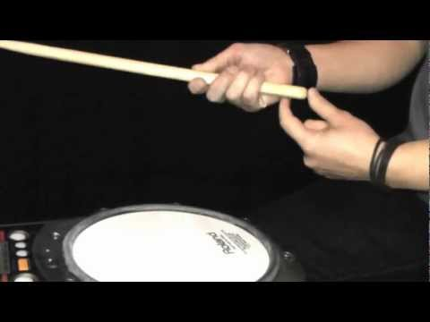 How To Hold Your Drumsticks Correctly - Drum Lesson