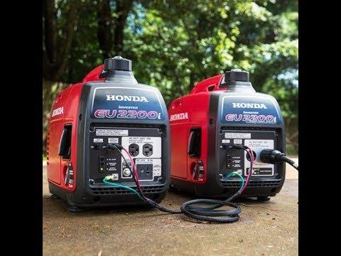 Review: Honda EU2200i 2200-Watt 120-Volt Super Quiet Portable Inverter Generator