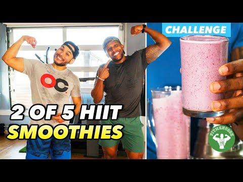 HIIT Smoothie Challenge 2: Kaisafit Challenge & Berry Brain Blast Smoothie