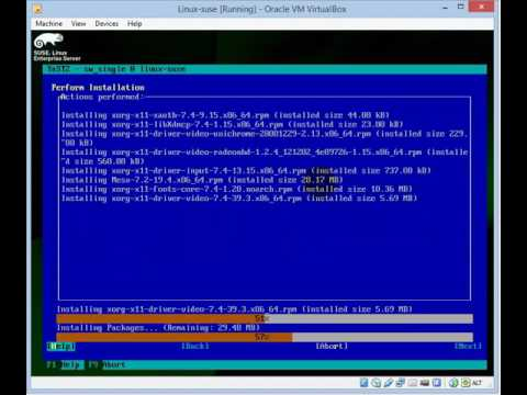 How To Configure X Display on Linux SUSE