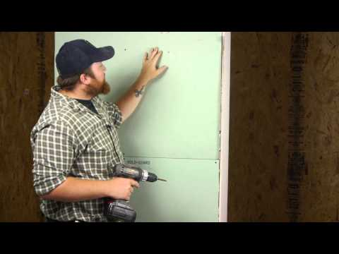 How to Secure a Shower Curtain Rod Into Drywall : Wall Repair