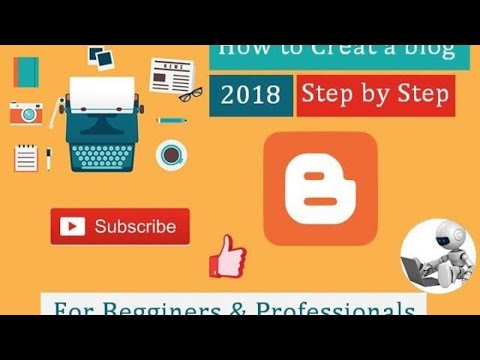 How to create a Google blog site on blogger 2018  by TS Tech Talk