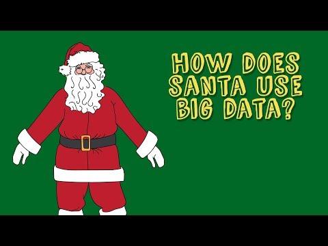 How Does Santa Use Big Data?