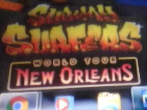 Subway surfers: New Orleans 2013 música Parte 1