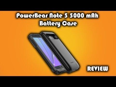 PowerBear 5000mAh Galaxy Note 5 Battery Case Review