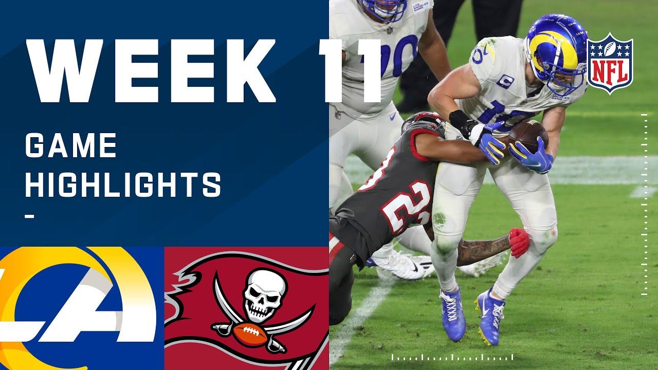 Rams vs. Buccaneers Week 11 Highlights | NFL 2020