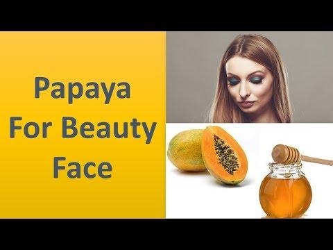La papaye pour beauté Visage