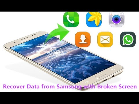How to Recover Lost Photos on Broken Galaxy S7/S6/S5/S4