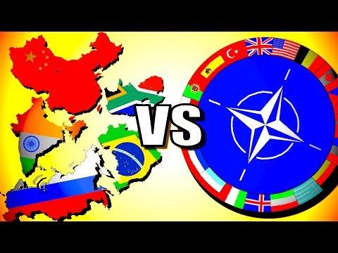 BRICS vs NATO!   Hearts of Iron 4 [HOI4 Modern Day]