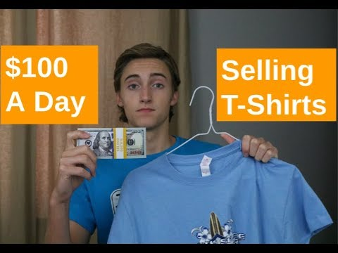 How To Make $100 A Day Selling T-Shirts Online (Merch By Amazon)