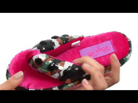 M&F Western Camo Sequin Flip Flop Slippers (Toddler/Little Kid/Big Kid)  SKU:8465836